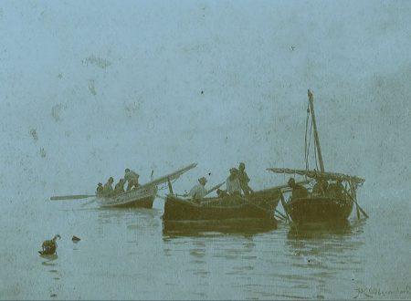 Pescatori di Bordighera (IM), oltre un secolo fa