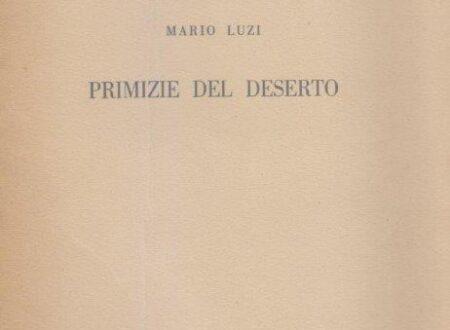 Aprile-Amore ( di Mario Luzi)